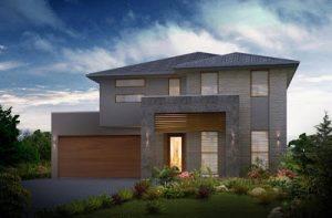 2 planos de casas de dos plantas